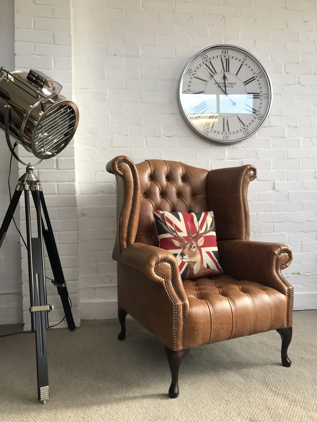 Stunning Queen Anne Armchair.(Matching Chair Available)
