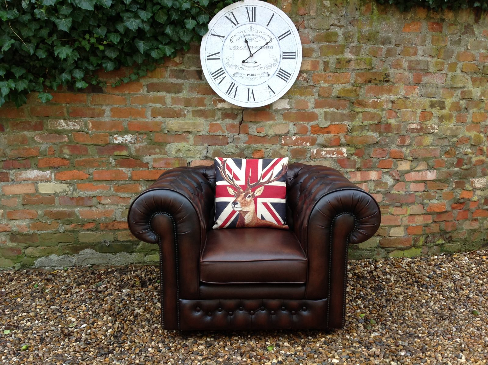 Thomas Lloyd Club Chair.(Matching 2 Seater Available)