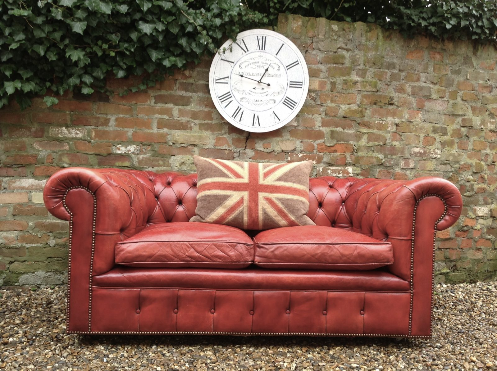 Fabulous Harrods Chesterfield Sofa…….( One Of A Matching Pair )