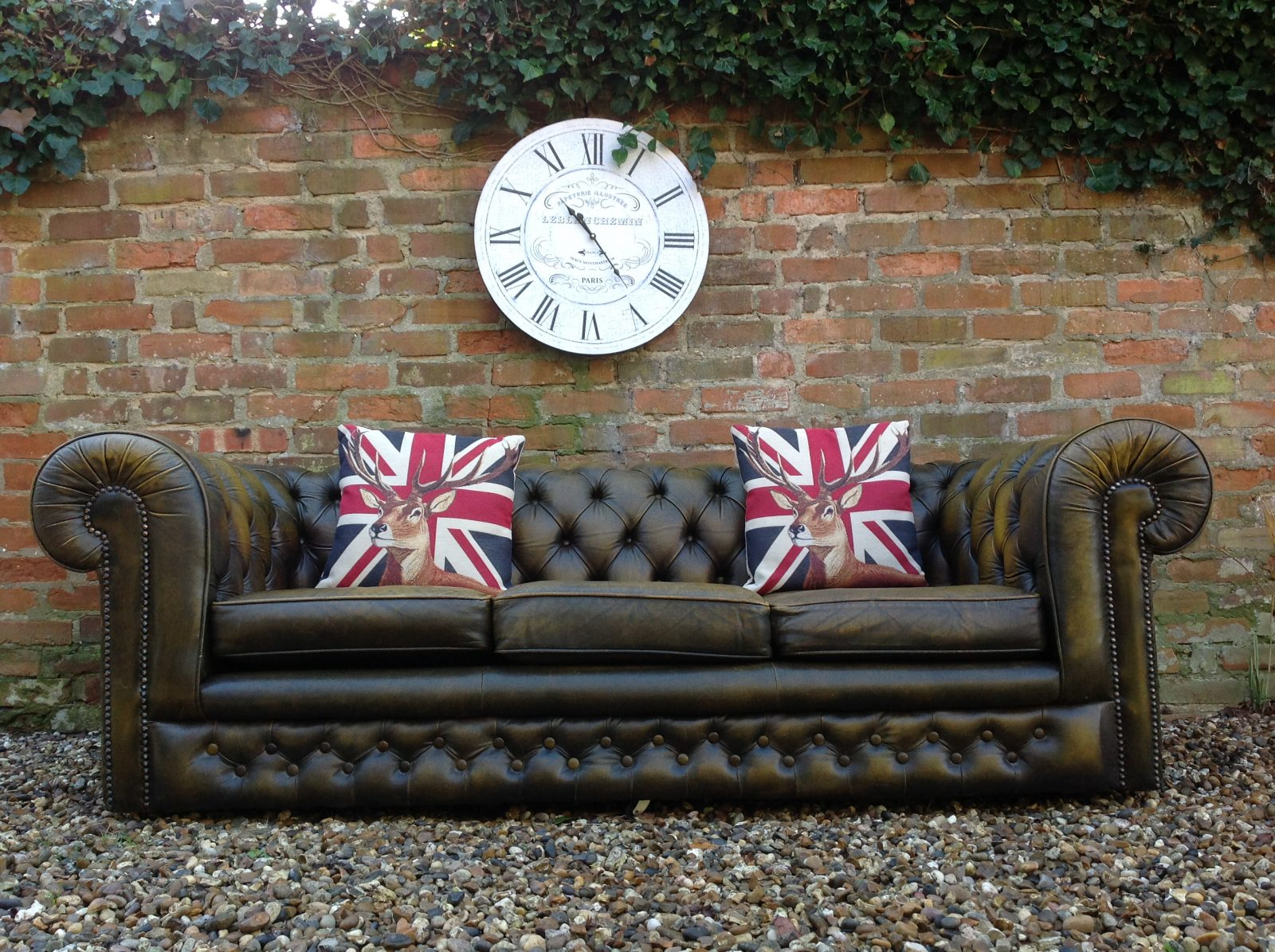Fantastic Vintage Chesterfield Sofa.