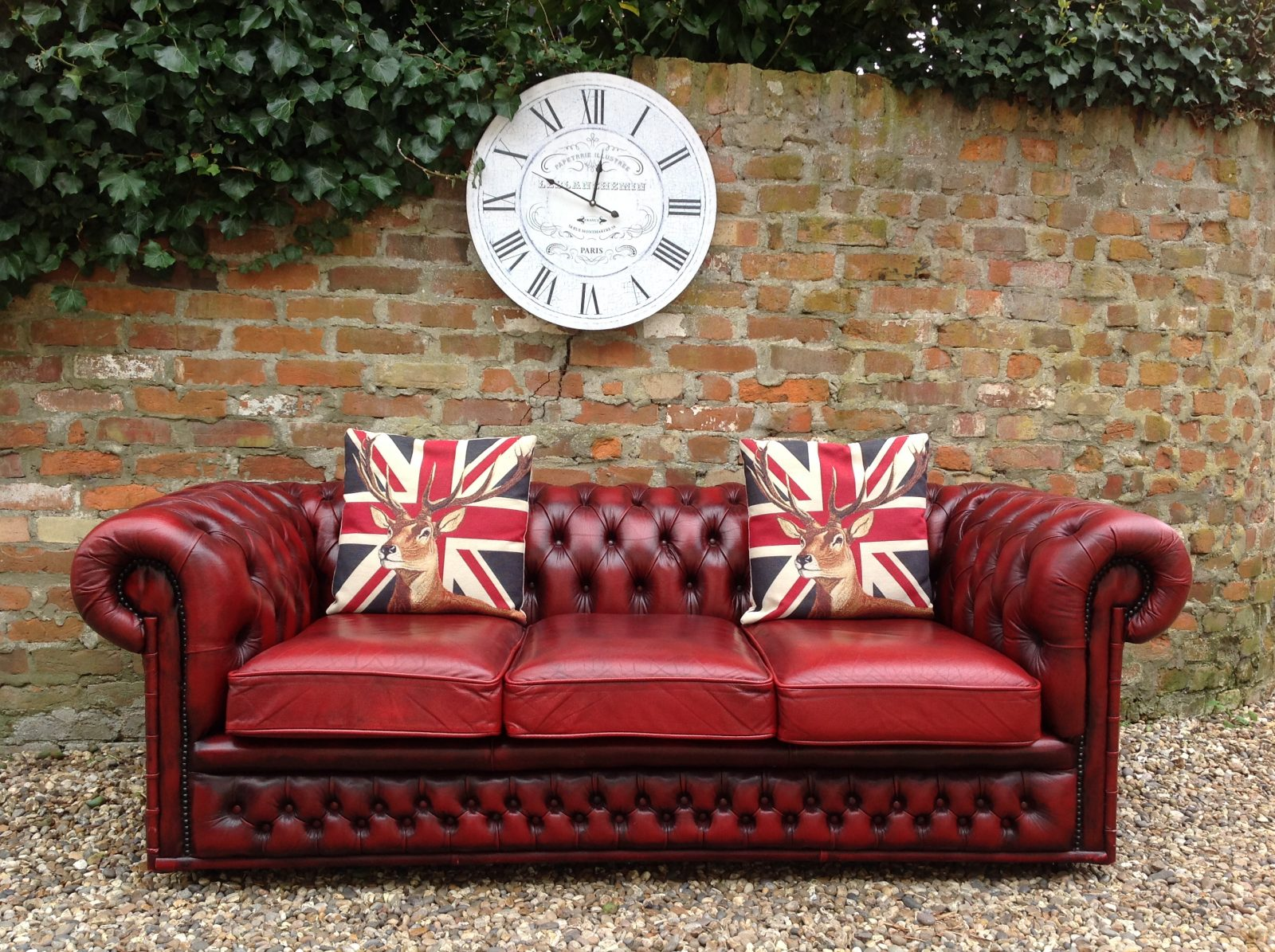Superb Vintage Chesterfield Sofa.