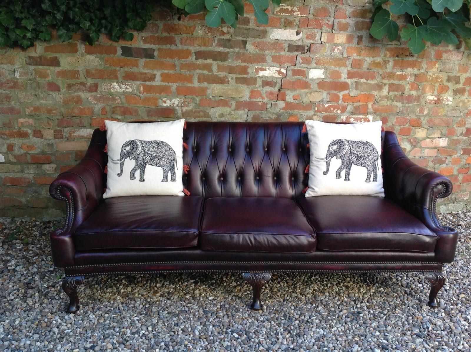 Stunning Rare Vintage Rockingham Chesterfield Sofa
