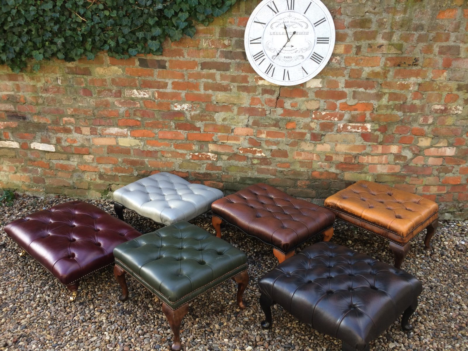 Selection Of Footstools And Other Interesting Items.
