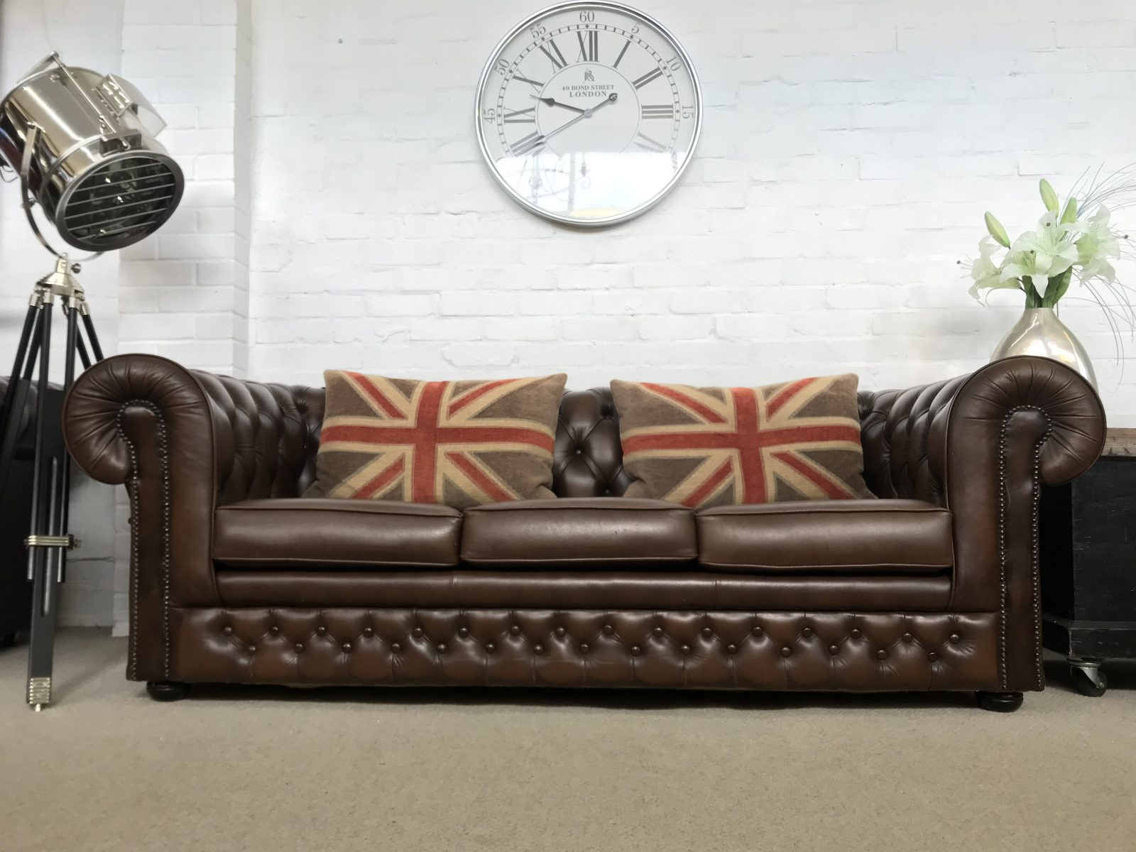 Thomas Lloyd Chesterfield Sofa Bed.