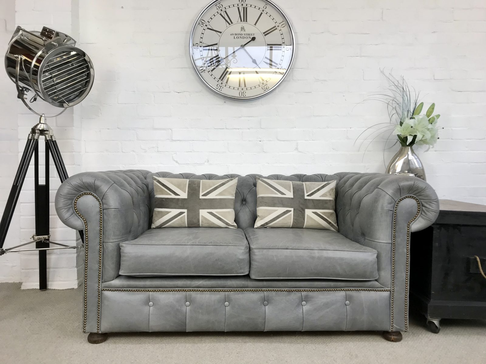 "Stunning ""Old Boot"" Chesterfield Sofa."