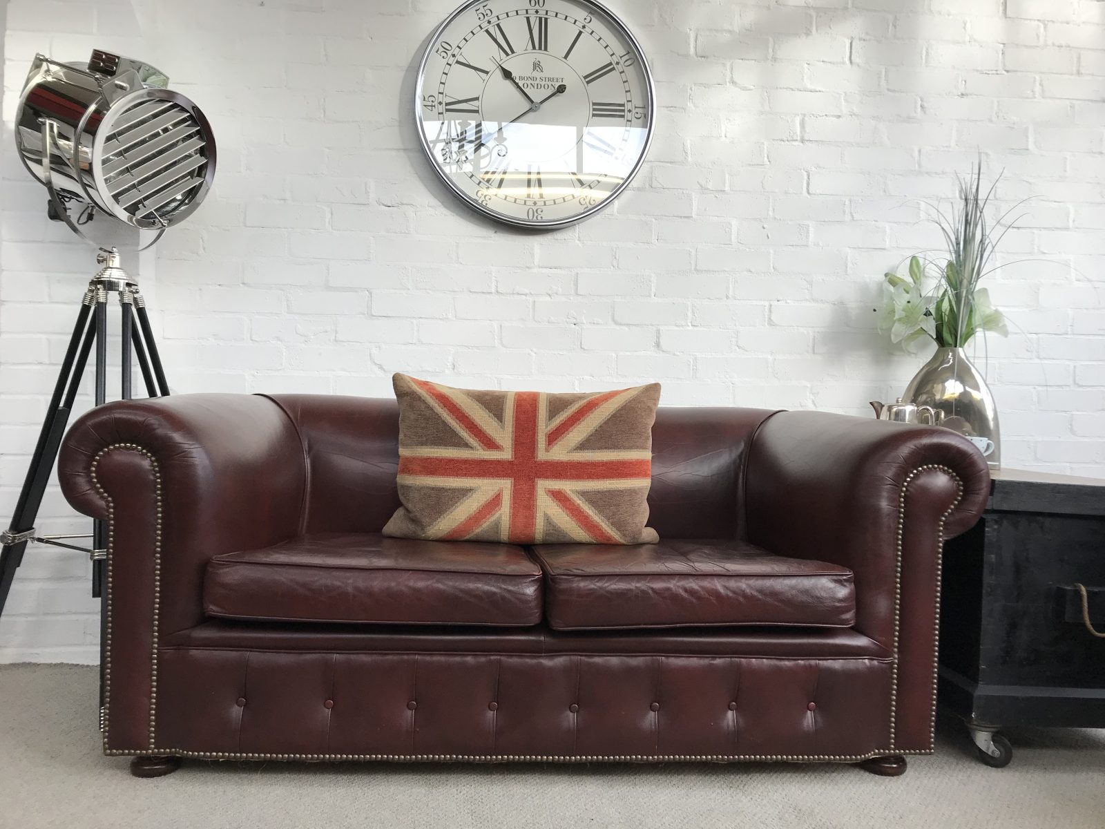 Vintage 1980's Chesterfield Sofa…..SOLD.