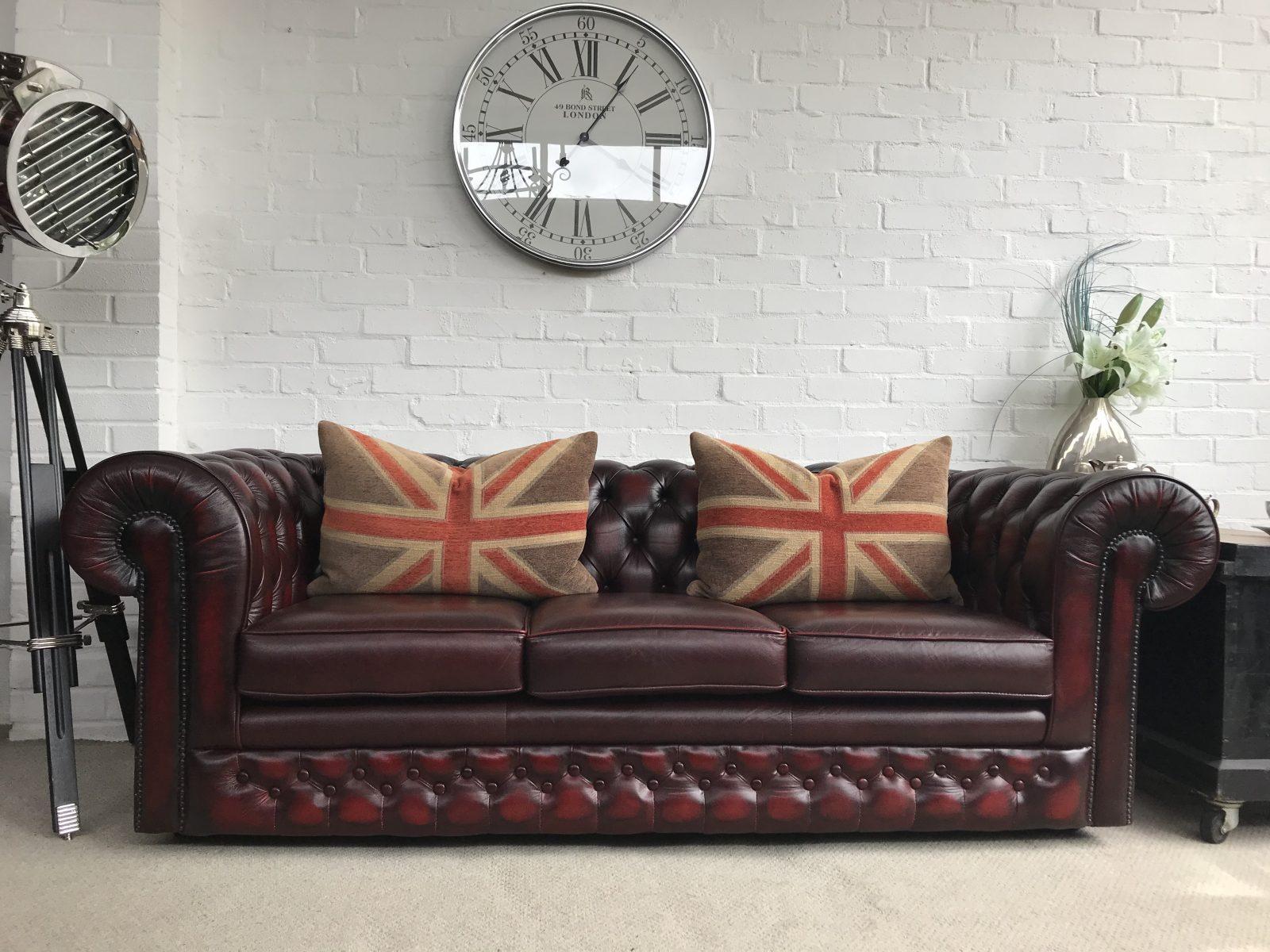 Thomas Lloyd Chesterfield Sofa…..SOLD.