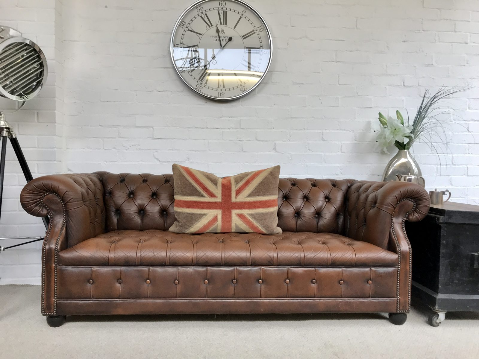 Vintage Pendragon Chesterfield Sofa…..SOLD.